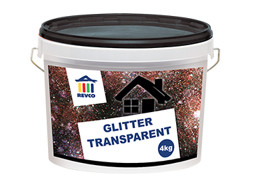 REVCO GLITTER TRANSPARENT
